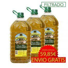 Aceite de oliva Virgen Extra 5 litros filtrado