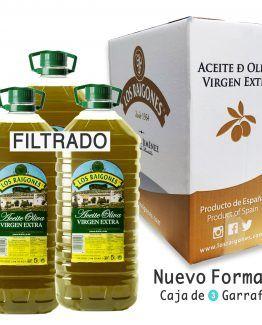 Aceite de Oliva Virgen Extra 5 LITROS (FILTRADO)