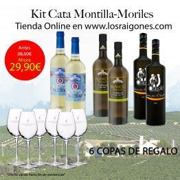 PAck Vinos Montilla-Moriles