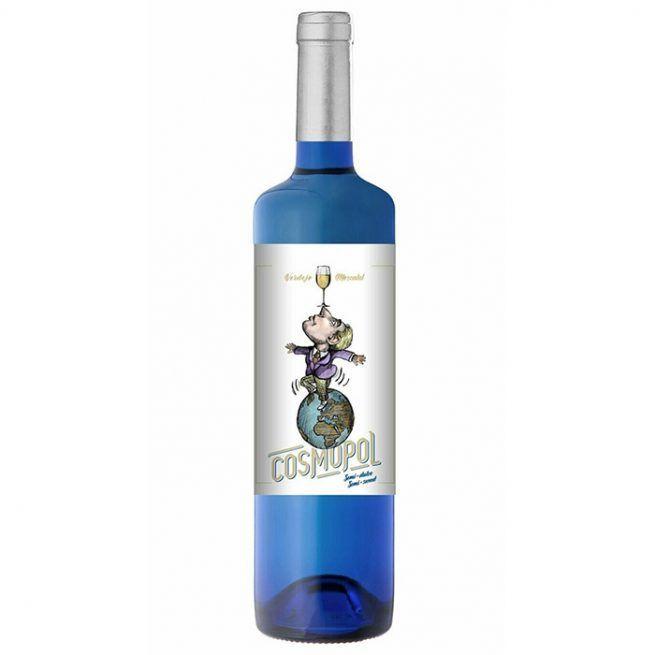 Cosmopol vino blanco semi-dulce