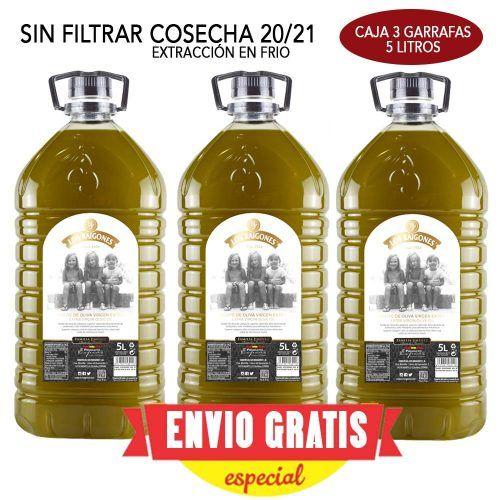 aceite de oliva virgen extra los raigones caja 5 litros