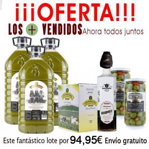 lote aceite de oliva virgen extra